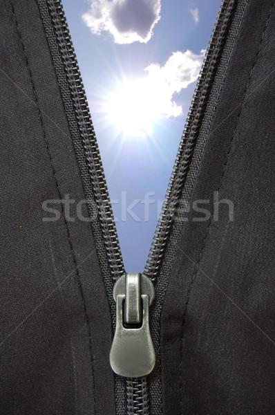 Zipper concept Stock photo © unikpix