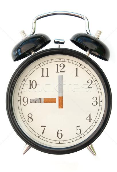 Cigarette clock  Stock photo © unikpix