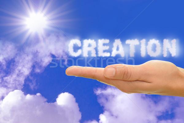 Creation Stock photo © unikpix