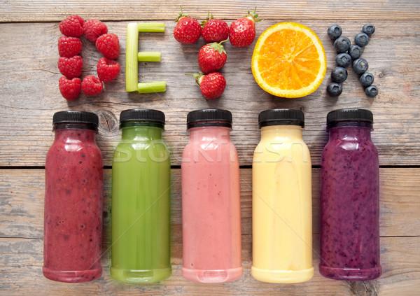 Detox smoothies Stock photo © unikpix
