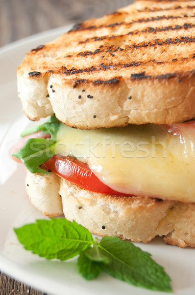 Grilled cheese melt Stock photo © unikpix