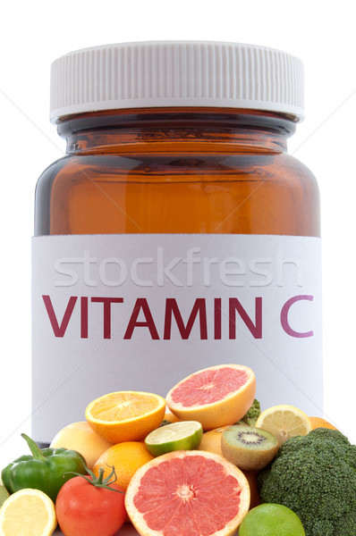 Vitamin C concept Stock photo © unikpix