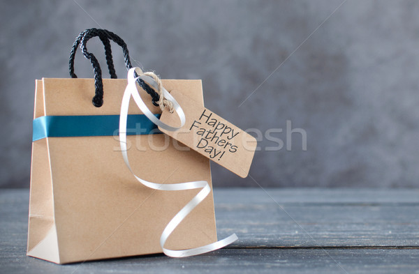 Fathers day gift background Stock photo © unikpix