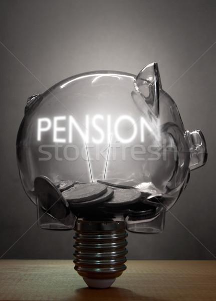 Pension retirement savings concept  Stock photo © unikpix