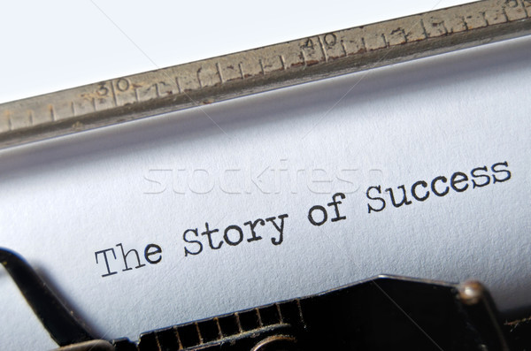 Story of Success Stock photo © unikpix