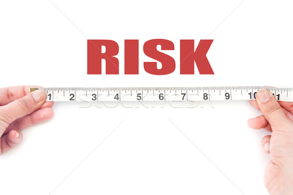 Meausuring risk Stock photo © unikpix