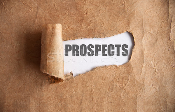 Uncovering prospects  Stock photo © unikpix