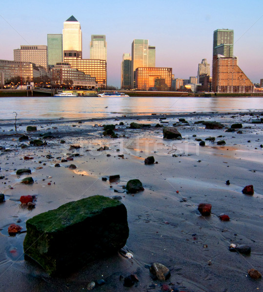 London Canary Wharf  Stock photo © unikpix