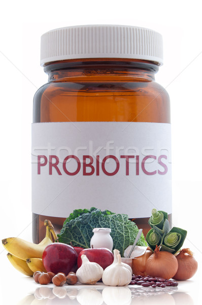 Probiotic pills concept  Stock photo © unikpix