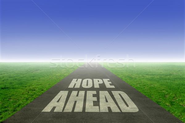 Hope ahead  Stock photo © unikpix