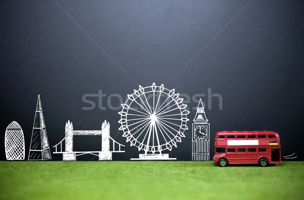 London skyline tourism Stock photo © unikpix