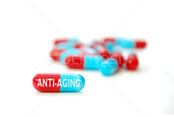 Anti-aging pill Stock photo © unikpix