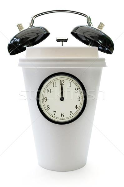Tiempo toma romper alarma Foto stock © unikpix