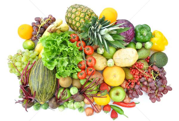 фрукты овощей массив плодов продовольствие Сток-фото © unikpix
