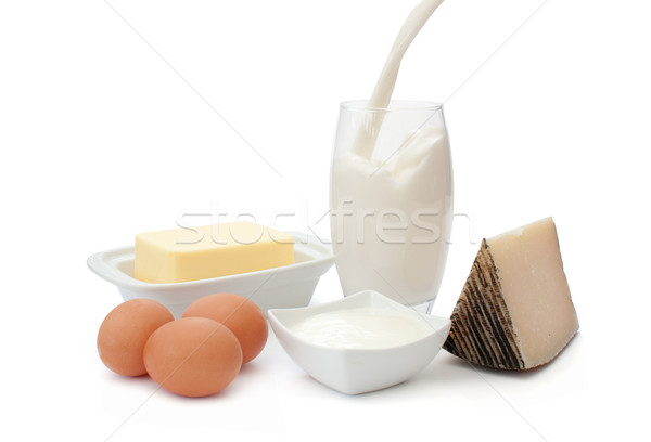Dairy products  Stock photo © unikpix