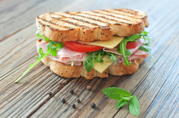 Grilled sandwich Stock photo © unikpix