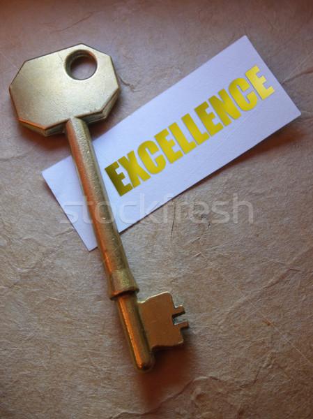 Key to excellence  Stock photo © unikpix