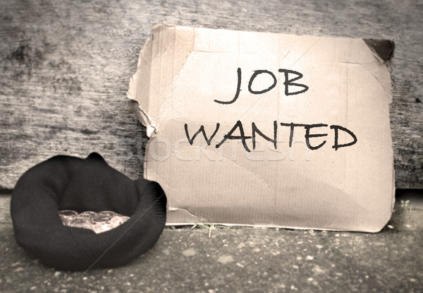 Job wanted  Stock photo © unikpix