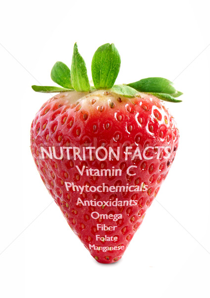 Strawberry superfood Stock photo © unikpix