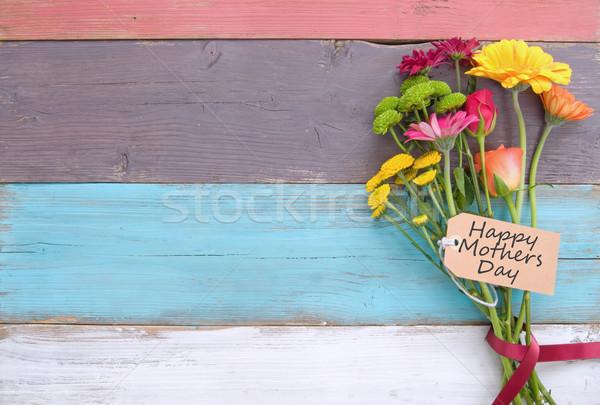 Mothers day gift flowers Stock photo © unikpix