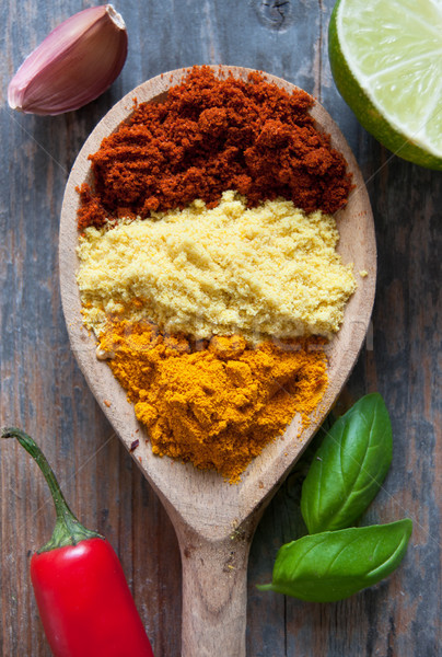 Herb and spices seasoning mix Stock photo © unikpix