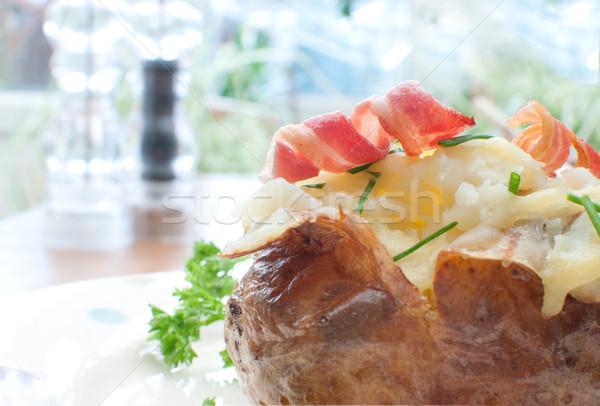 Baked potato Stock photo © unikpix