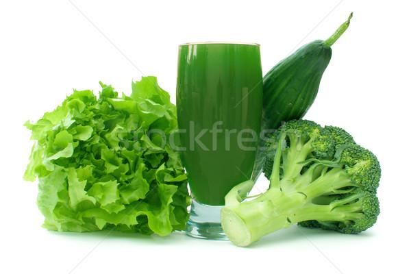 Green vegetable smoothie  Stock photo © unikpix