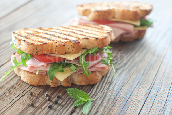 Grilled deli sandwiches Stock photo © unikpix