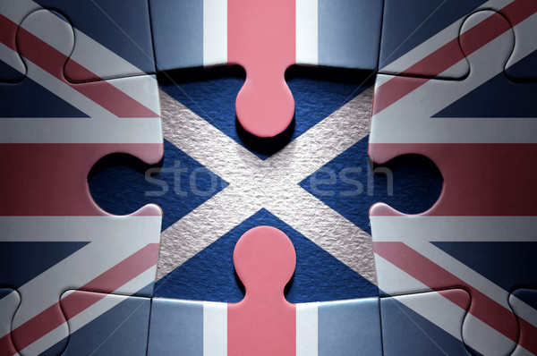 Scottish independence jigsaw puzzle concept  Stock photo © unikpix