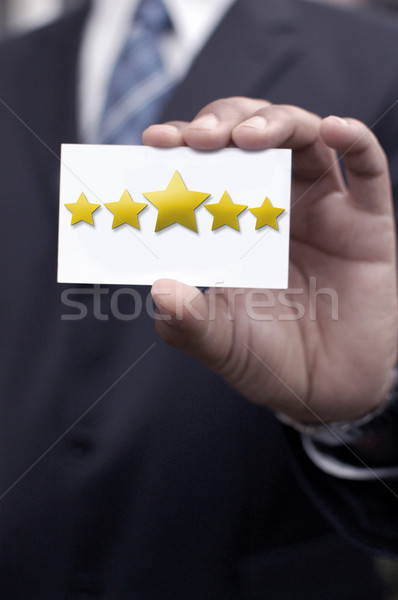 Five star rating Stock photo © unikpix