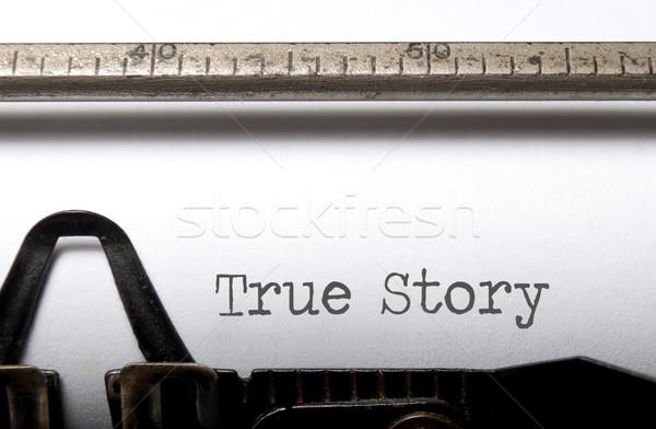 True story  Stock photo © unikpix