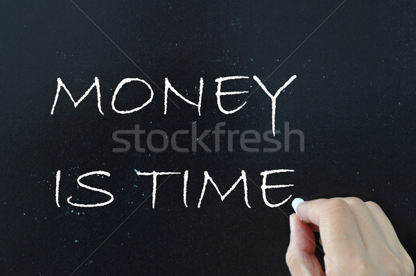 Money is time Stock photo © unikpix
