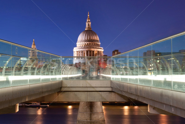 St Pauls and River Thames Stock photo © unikpix