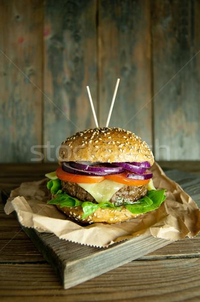 Cheese burger  Stock photo © unikpix