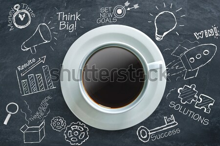 Coffee time ideas  Stock photo © unikpix