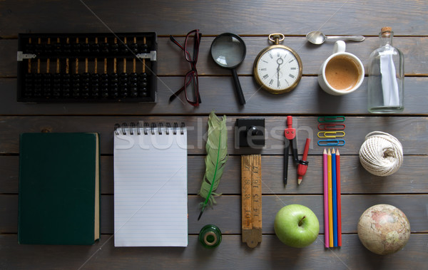 Education study research background objects Stock photo © unikpix