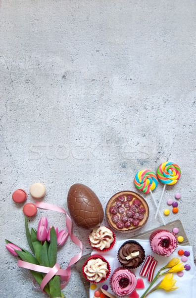 甘い食べ物 イースター お菓子 ベーカリー チョコレート ストックフォト © unikpix