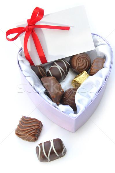 Valentines chocolates Stock photo © unikpix