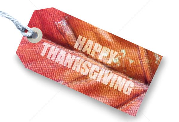 Happy thanksgiving  Stock photo © unikpix