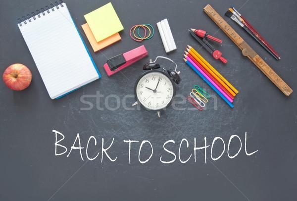 Back to school background Stock photo © unikpix