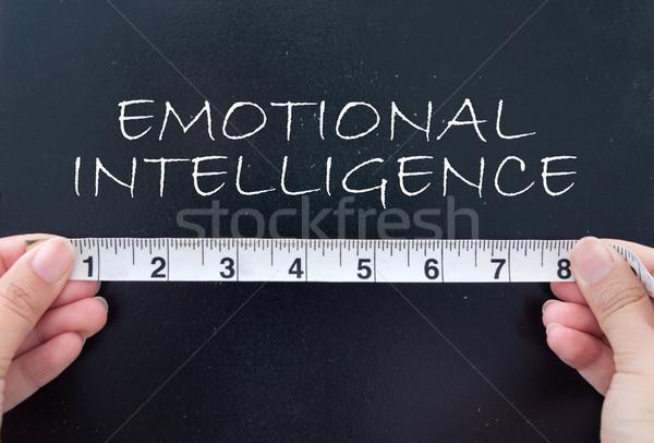 Verstand handen tape Stockfoto © unikpix