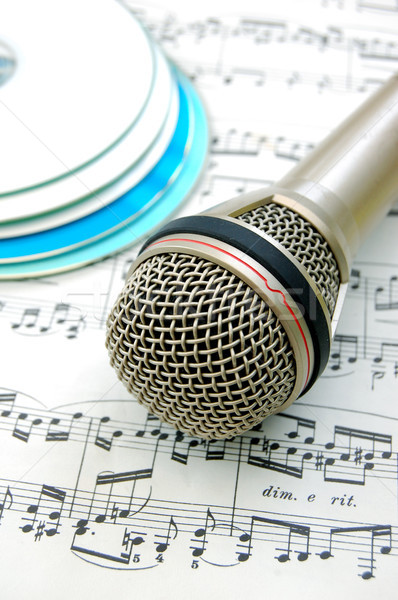 Microphone Stock photo © unikpix