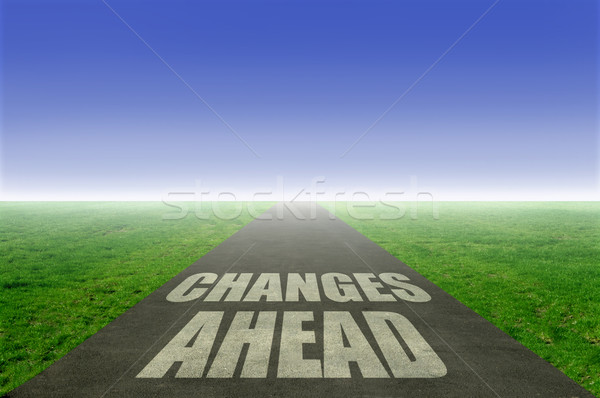 Changes ahead  Stock photo © unikpix