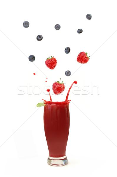 Berry smoothie  Stock photo © unikpix