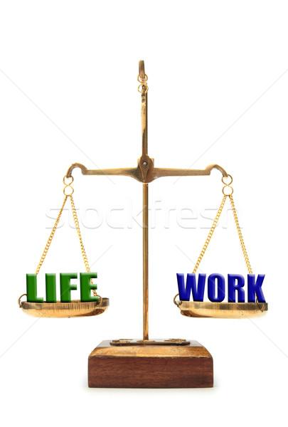 Work life balance concept  Stock photo © unikpix