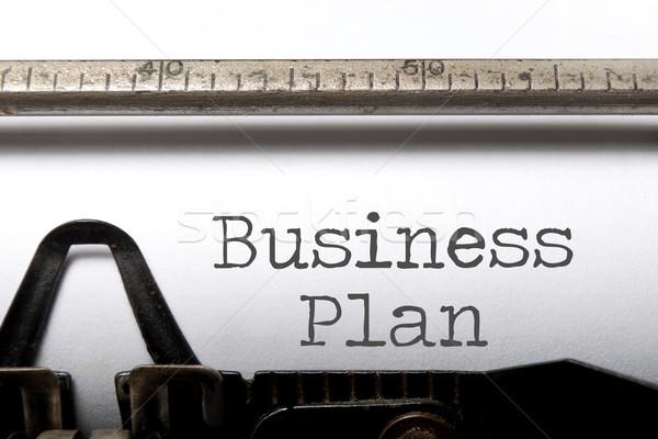 Business plan Stock photo © unikpix