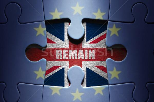 Brexit concept remain Stock photo © unikpix