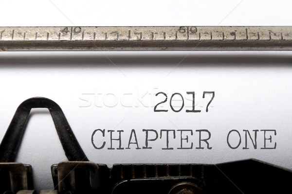 Stock photo: 2017 chapter one