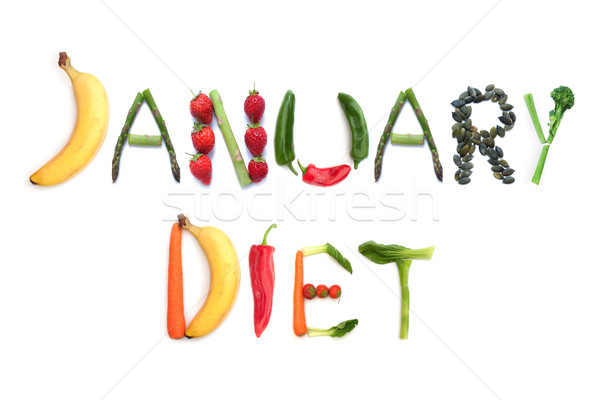 January diet  Stock photo © unikpix