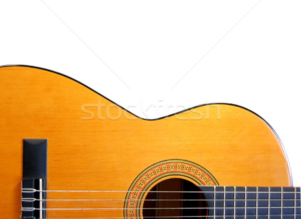 Acoustic guitar Stock photo © unikpix